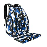 ECOSUSI Men Baby Diaper Bag Backpack for Dad with Changing Pad Navy