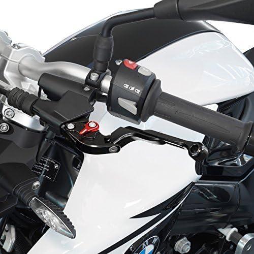 V-Trec Vario II Vario Safety Motorrad Kupplung Bremshebel-Set Suzuki SV-650 99-08 mit ABE Klappbar Verstellbar