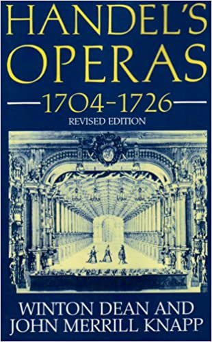 Handel's Operas, 1704-1726 (Clarendons)