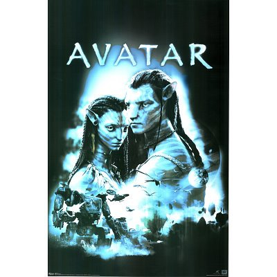Avatar Movie Embrace Poster Print