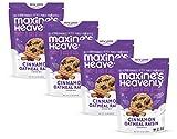 Maxine's Heavenly - Vegan, Gluten Free, Soy Free, Non-GMO - Cinnamon Oatmeal Raisin Cookies - 7.2 ounce bags (4 pack)