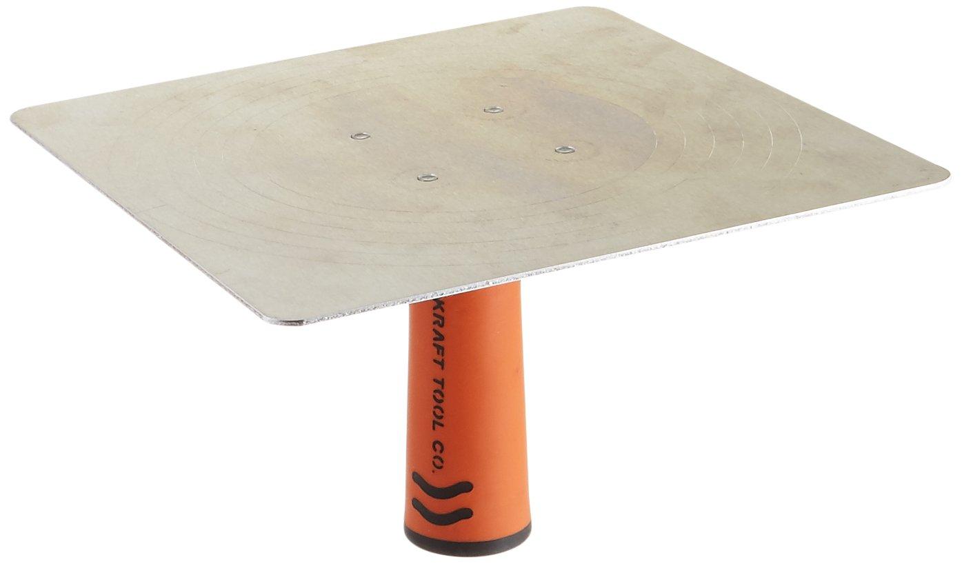 Kraft Tool PL261PF Magnesium Hawk with ProForm Soft Grip Handle, 10 x 10-Inch, 10 x 10-Inch