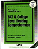 SAT and College Level Reading Comprehension, Jack Rudman, 0837367573