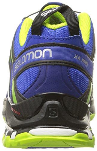 Salomon L37920700, Zapatillas de Trail Running para Hombre Azul (Cobalt /     Process Blue /     Granny Green)