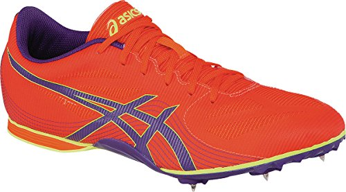 ASICS Women's Hyper-Rocketgirl 7 Cross Country Spike Shoe, Orange/Dark Purple/Flash Yellow, 8.5...