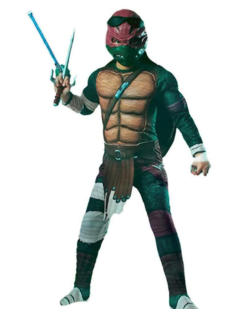 ZSDFGH Disfraz De Halloween Cosplay Ninja Turtle Performance ...