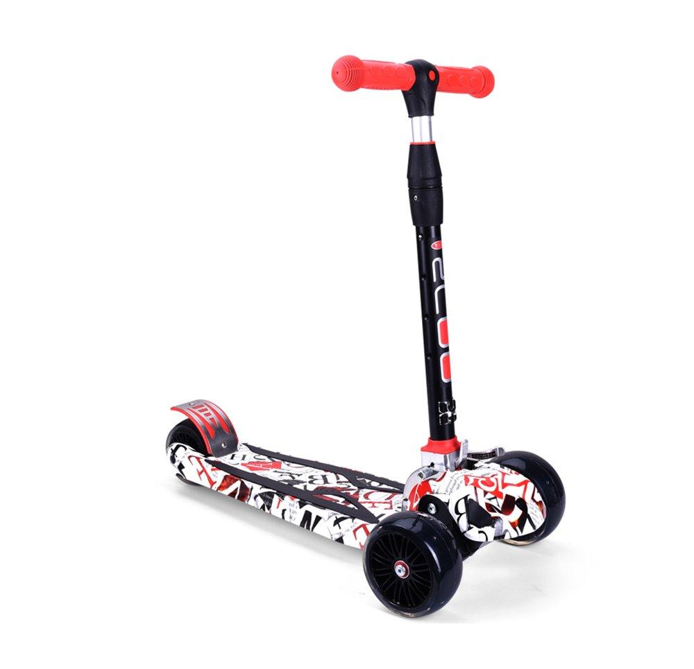 子供のスクーター B07FD26ZY5/おもちゃ/ C 2-16歳の滑りやすい車点滅車/赤ちゃん3輪スクーター (/折りたたみ/リフト/調節可能/特大の車輪 ( Color : C ) B07FD26ZY5, 麻雀用品販売まーじゃんSHOP:14a3a393 --- aitaocity.com