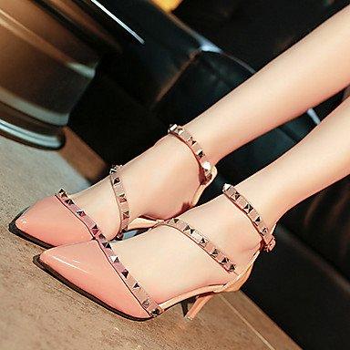 Noir Marche Chaussures ggx 5 Aiguille Femme beige cm à Talon à Talons Eté 2 LvYuan Printemps Polyuréthane Beige Rose 5 4 w8PqBwE