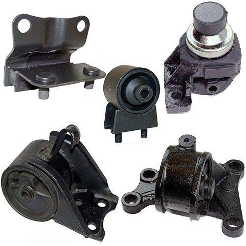 Rear Engine 626 Mazda - ONNURI For 1994-1999 MAZDA 626 2.0L ENGINE & TRANS MOUNT FULL SET for AUTO TRANS 5 PCS : A6480, A6460, A6405, A6463, A6440 - K0087