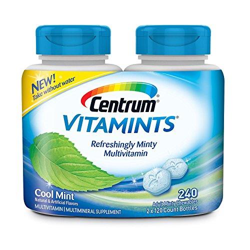 Centrum Vitamints Multivitamins, Cool Mint, 240 Count