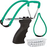 Mythic-Outdoors-Adjustable-Steel-Hunting-Slingshot-Package-with-Heavy-Duty-Band-Ergonomic-Pistol-Grip-and-75-Steel-Ammo-Balls