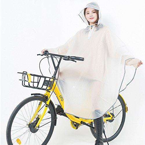 bici excursión coche al de los y mujeres que las eléctrico figures de libre aire la de de poncho original de va blue Impermeable manera la hombres solo 8attqv