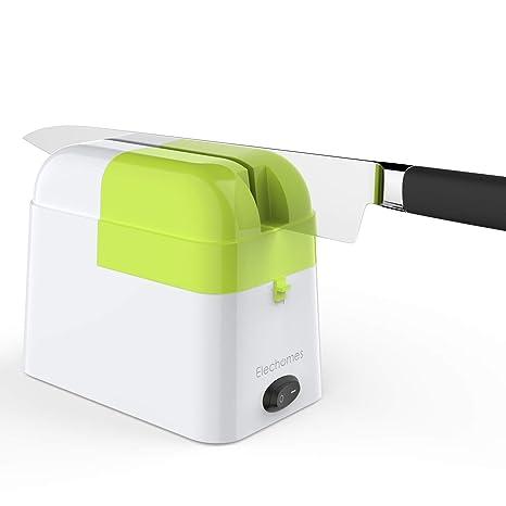 Elechomes - Afilador de cuchillos eléctrico para cuchillos ...
