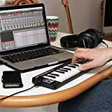 M-Audio Keystation 61 II - 61-Key USB MIDI Keyboard Controller with Pitch-Bend & Modulation Wheels
