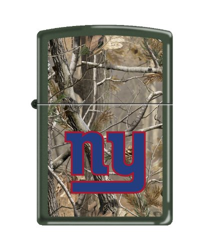 New York Giants Zippo Lighter - NFL New York Giants Realtree Zippo Lighter