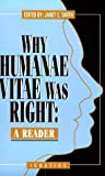 Why Humanae Vitae Was Right, , 0898704332