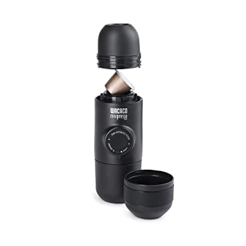Minipresso NS, compatible with Nespresso brand capsules, gMXwWn 3 Pack