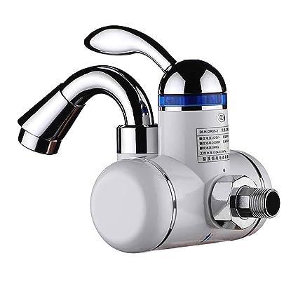 Grifo eléctrico Grifo Calentador de aguaInstante sin Tanque Calentador de Agua eléctrico Grifo Cocina baño calefacción