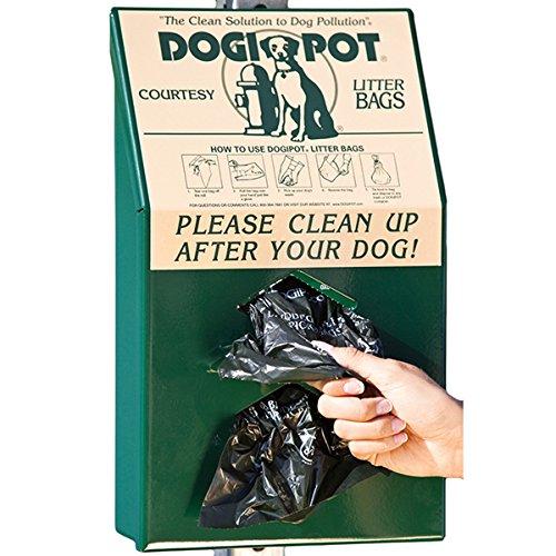 PetWaste Bag Dispenser, 15-1/2''H x, Gr
