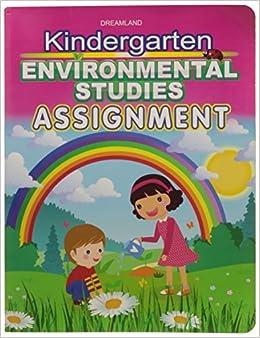 Book Kindergarten Environmental Studies Assign