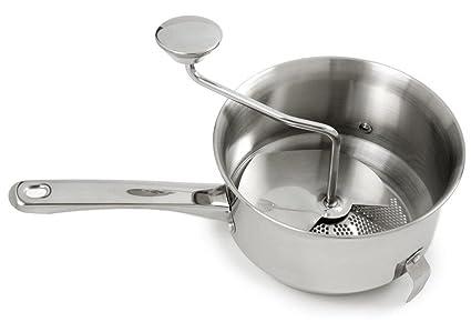 Amazon.com: Herramientas de Cocina Alimentos Molino 18/10 ...