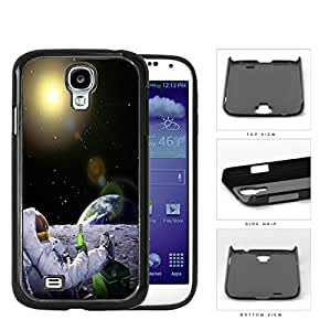 Man On The Moon Astronaut Chilling Hard Plastic Snap On Cell Phone Case Samsung Galaxy S4 SIV I9500