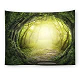WSHINE Forest Wall Tapestry Road Tapestries Rainforest Home Decortion Children's Room Decor Blanket