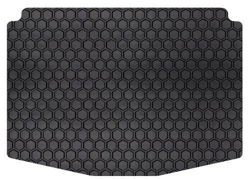 Intro-Tech Hexomat Cargo Area Custom Floor Mat for Select Dodge Durango Models - Rubber-like Compound (Black) ()