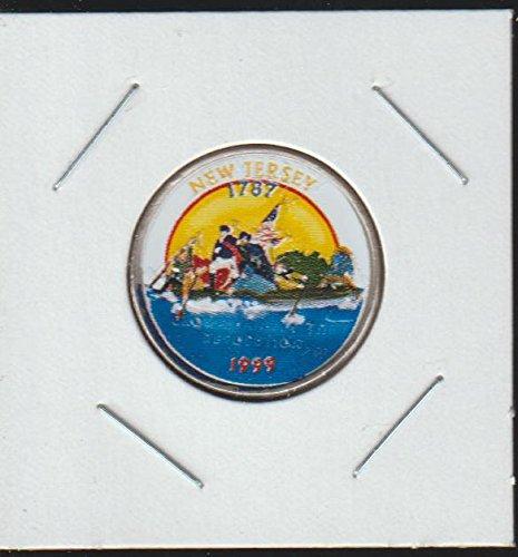 1999 P Washington State Quarter New Jersey Quarter Choice Extremely Fine