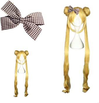 Mädchen Sailor Moon Cosplay Kostüme Perücke Tsukino Usagi und Prinzessin Serenit