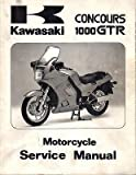 1986-2003 KAWASAKI MOTORCYCLE CONCOURS SERVICE MANUAL P/N 99924-1065-12 (541)