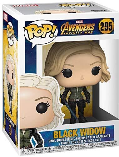 51AAaWengcL Funko Pop! Marvel: Avengers Infinity War - Black Widow Vinyl Figure (Bundled with Pop Box Protector Case)