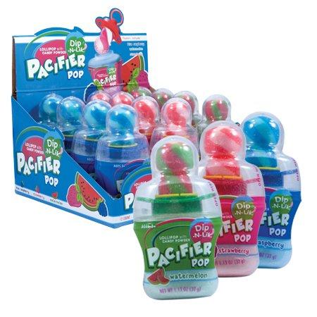Dip N Lik Pacifier Pop - 12 / Box