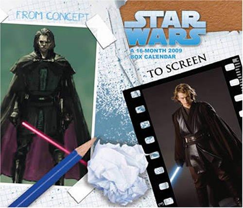 Star Wars Boxed 2009 Boxed Calendar (2009 Box Calendar)