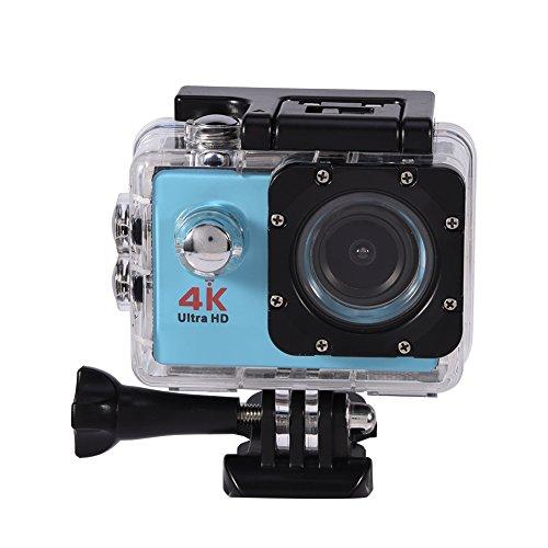 Waterproof SJ9000 Wifi 1080P 4K Ultra HD Sports Action Camera DVR Cam Camcorder (Blue)