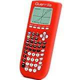 Guerrilla Silicone Case for Texas Instruments TI-84 Plus Graphing Calculator, Red