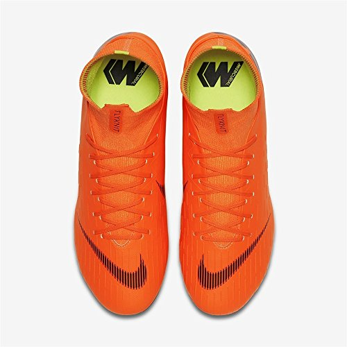 810 t Total Black FG 6 Orange Deporte Superfly NIKE Adulto Zapatillas Unisex Pro Multicolor de gqxvAOw46