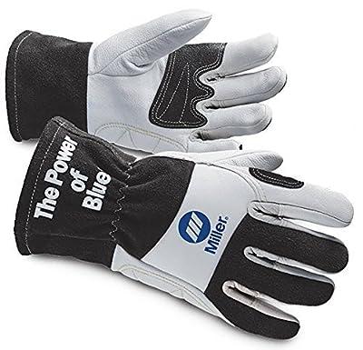 Miller Premium Cowhide Work Gloves 266041 by Miller Electric