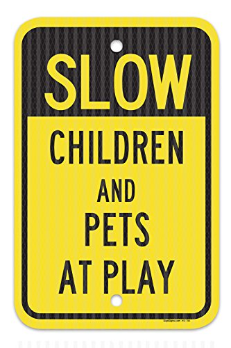 slow children and pets at play - 3