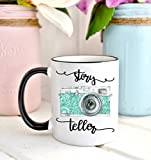 Best Wedding Photographers - Story Teller Mug, Gift for Photographer, Photography Mug Review