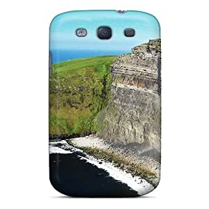 Durable Case For The Galaxy S3- Eco-friendly Retail Packaging(ocean Mountain)