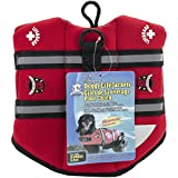 Paws Aboard Neoprene Doggy Life Jacket- Red (XS (7-15 lbs)) Review