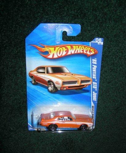 2010 Hot Wheels Muscle Mania 06 10 Orange 69 Pontiac Gto Judge