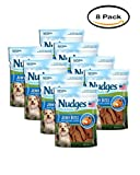 PACK OF 8 – Nudges Dog Treats Jerky Bites Chicken, 5.0 OZ For Sale