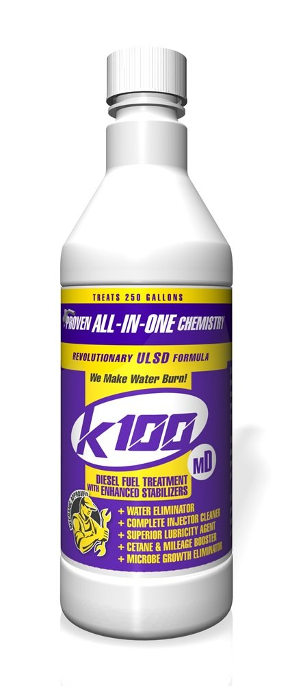 K100 MD Diesel Fuel Treatment with Stabilizer - 12/32 oz. case by K100