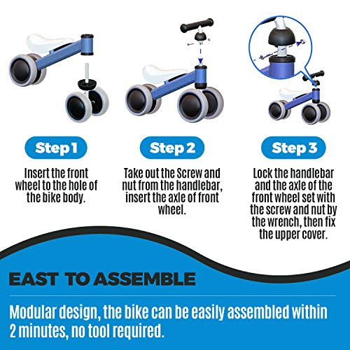 outdew-Baby-Balance-Bike-Bicycle-Ride-On-Toys-1-Y thumbnail 9