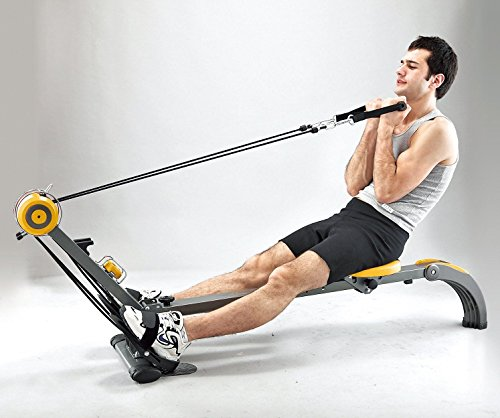 Body-Sculpture-BR3010-Rower-and-Gym-Adjustable-Resistance-Built-in-Gym-Folds-Free-DVD-Track-Your-Progress-More