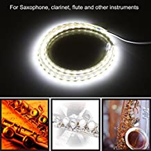 Leak Light for Saxophone Clarinet Flute Oboe LED Strip Light Leak Detection Tool for Woodwind Instrument Repair 220V EU Plug