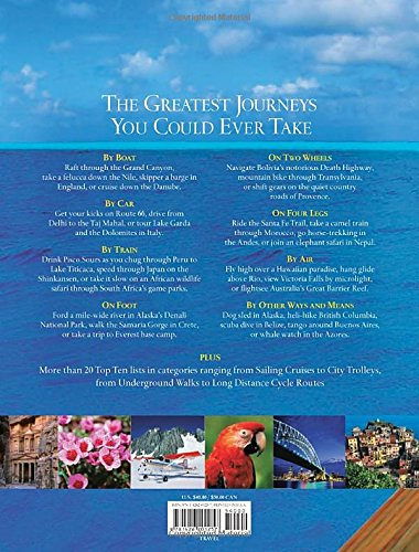 51AAdhgMrSL - Journeys of a Lifetime: 500 of the World's Greatest Trips