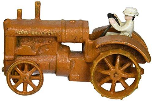 Design Toscano Allis Chalmers Replica Cast Iron Farm Toy Tractor, -